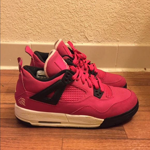 release date: a087c 27ab0 Jordan Other - Air Jordan 4 IV GS Valentine s Day 487724-601 Rare